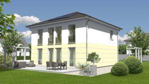 Bild: Stadtvilla 145 Bauweise: Bau vor Ort, traditioneller Hausbau Bauart: Massivhaus, Ziegelsteine