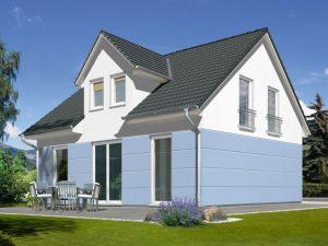 Bild: Das Flair 134 Bauweise: Bau vor Ort, traditioneller Hausbau Bauart: Massivhaus, Ziegelsteine