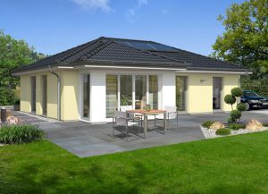 Bild: Der Bungalow 110 Bauweise: Bau vor Ort, traditioneller Hausbau Bauart: Massivhaus, Ziegelsteine