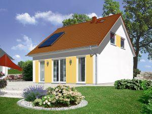 Bild: Flair 110 Bauweise: Bau vor Ort, traditioneller Hausbau Bauart: Massivhaus, Ziegelsteine