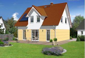 Bild: Flair 125 Bauweise: Bau vor Ort, traditioneller Hausbau Bauart: Massivhaus, Ziegelsteine