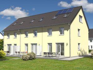 Bild: Reihenhaus Mainz 128 Bauweise: Bau vor Ort, traditioneller Hausbau Bauart: Massivhaus, Ziegelsteine