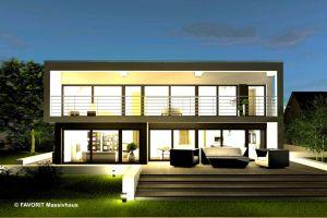 Bild: Twentyfive 220  Bauart: Massivhaus, Porenbetonsteine