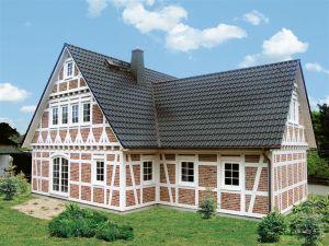 Bild: FH 165  Bauart: Holzhaus, Blockhaus