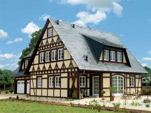 Bild: FH 220  Bauart: Holzhaus, Blockhaus